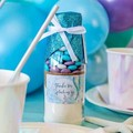MERMAID Cookie Mix in a bottle. Party Favours. SMALL - makes 6 cookies