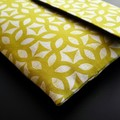 Geometric Print Clutch
