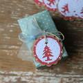 12 Handmade Christmas Tree Gift Tags Christmas Tags Favour Tags Tree Tags