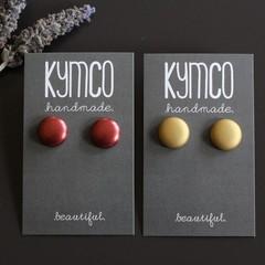 Stud earrings - various colours