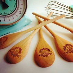Sweet Health WOODEN SPOONS