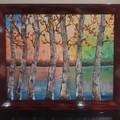 Abstact impressionism landscape 50.6cm (W) x 60.8cm (H)