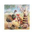 Australian Christmas card pack of 5, Australian animals, Hand illustrated
