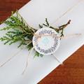 10 Joy Wreath Tags Christmas Wreath Handmade Christmas Gift Tags Joy Gift Tags