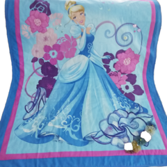Blue Cinderella Lap Quilt,  Wall Hanging,  Embellished, Quilted. FREE POST