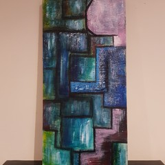 Abstract, Technology original Painting