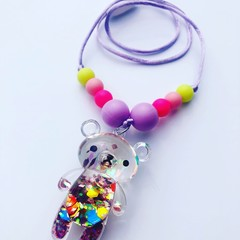 Washable Kids Jewellery - Glitter Bears