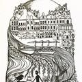 'Fremantle' framed print