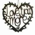 Love You More woodcut