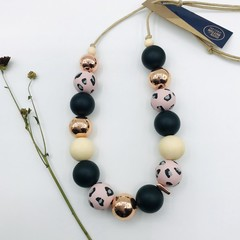Blush Leopard Necklace