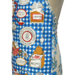 Metro Retro Cooking PROVERBS Vintage Tea Towel Apron.