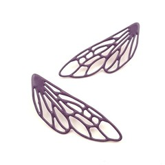 Dragonfly wings statement Earrings