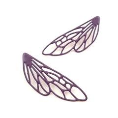 Dragonfly wings statement Earrings