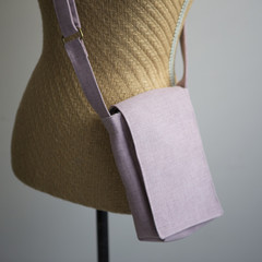 the Slim Satchel - blush