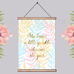 She Sparkles Printable