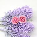 Personalised Rose Flower Earrings