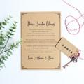 Personalised Santa's Magic Key, Christmas Gift, Ornament, Christmas Eve box