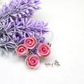 Personalised Rose Flower Jewelry Set