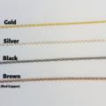 Natural Red Jasper gemstone bar Necklace ( Brown healing gem Meditation Stone )