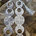 Phase of the Moon Free Standing Lace Bookmark