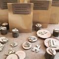 Timber Playdough Stamp Set Baking Set