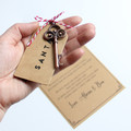 Personalised Santa's Magic Key, Christmas Gift, Ornament, Christmas Eve box