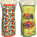 Metro Retro Vintage Tea Towel ORANGES & LEMONS or FRUIT BOWL STAND Apron