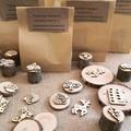Timber Playdough Stamp SetWoodland
