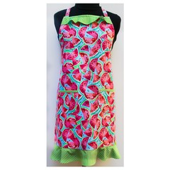 Watermelon Dreams ladies one piece apron