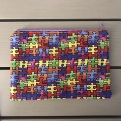 Puzzle pencil case