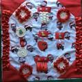 Christmas Dementia Alzheimers Fidget Quilt Lap Sensory Blanket Mat