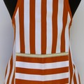 Boys or Girls apron - Stylish stripes