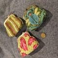Kisslock coin purse / gamaguchi - legacy Tula Pink fabrics