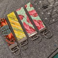 Key fob straps - Tula Pink legacy fabrics