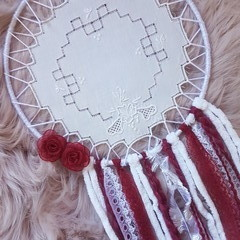 Maroon Dream Catcher