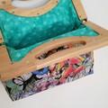 Butterflies & Frogs Handbag