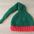 Crochet Christmas Elf Newborn Outfit