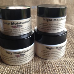 Day Moisturiser & Night Moisturiser duo  15g or 30g