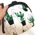 Cactus Handbag with shoulder chain