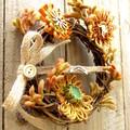 Australian Native Wildflower Floral Grapevine Wreath 18 cm