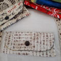 Fabric Mini Purse, Lip Balm, Lipstick, Earplugs, Key BUY ONE GET 2