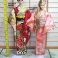 doll clothes silk kimono for Poppy Parker 12.5 in doll handmade