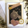 'Penny Farthing 1869' Inspirational Card