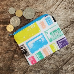 Small Coin PurseRetro Cassettes