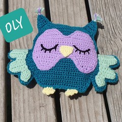 Oly the Sleepy Owl Cuddles Toy