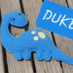 Duke the Dinosaur Cuddles Toy