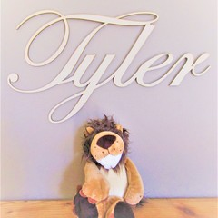Custom Kids/Baby Room Names - Timber mdf 40 cm