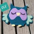 Oly the Sleepy Owl Cuddles Toy