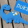 Duke the Dinosaur Cuddles Toy