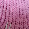 BEANIE - Child's 100% COTTON Loom Knitted Pink Beanie